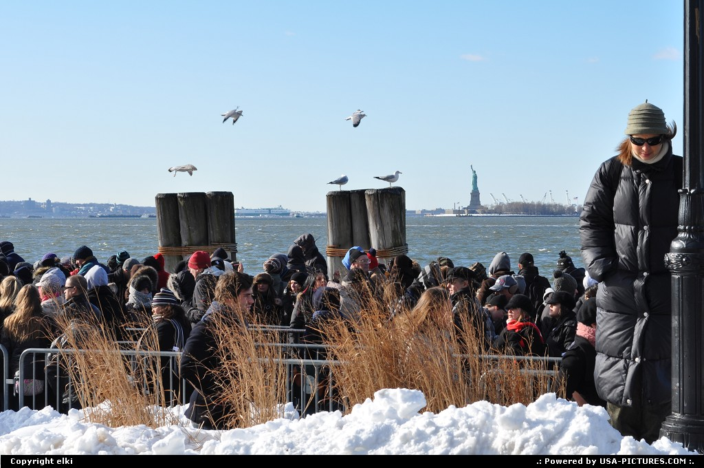 Picture by elki:New YorkNew-yorkstatue of liberty line