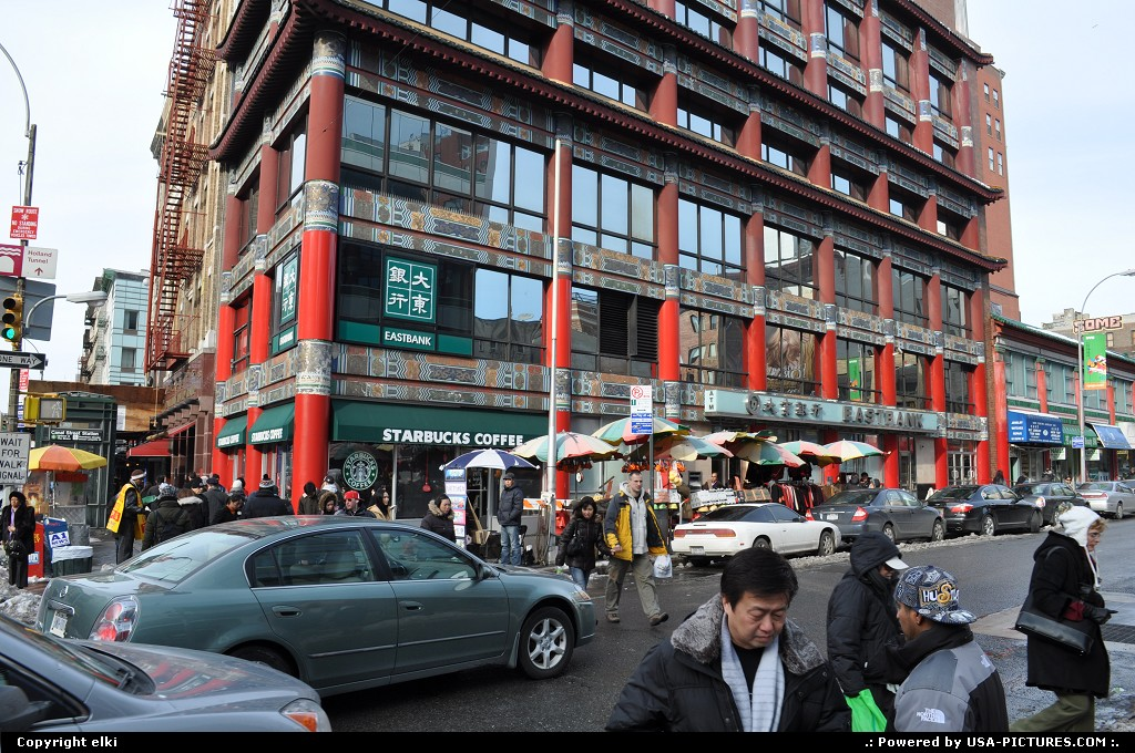Picture by elki:New YorkNew-yorkChinatown New york
