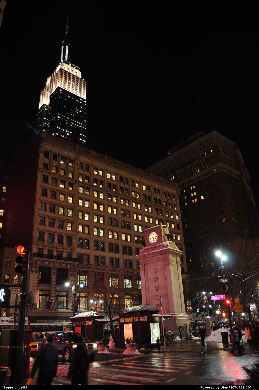 Picture by elki:New YorkNew-yorkempire state