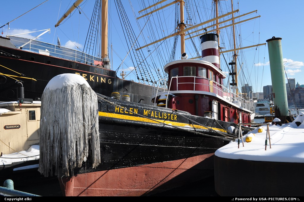 Picture by elki: New York New-york   seaport museum new york