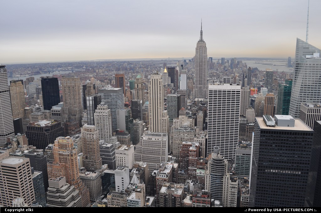 Picture by elki:New YorkNew-yorkmanathan top of the rock