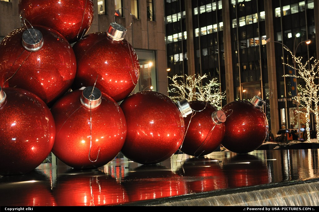 Picture by elki:New YorkNew-yorknew york christmas