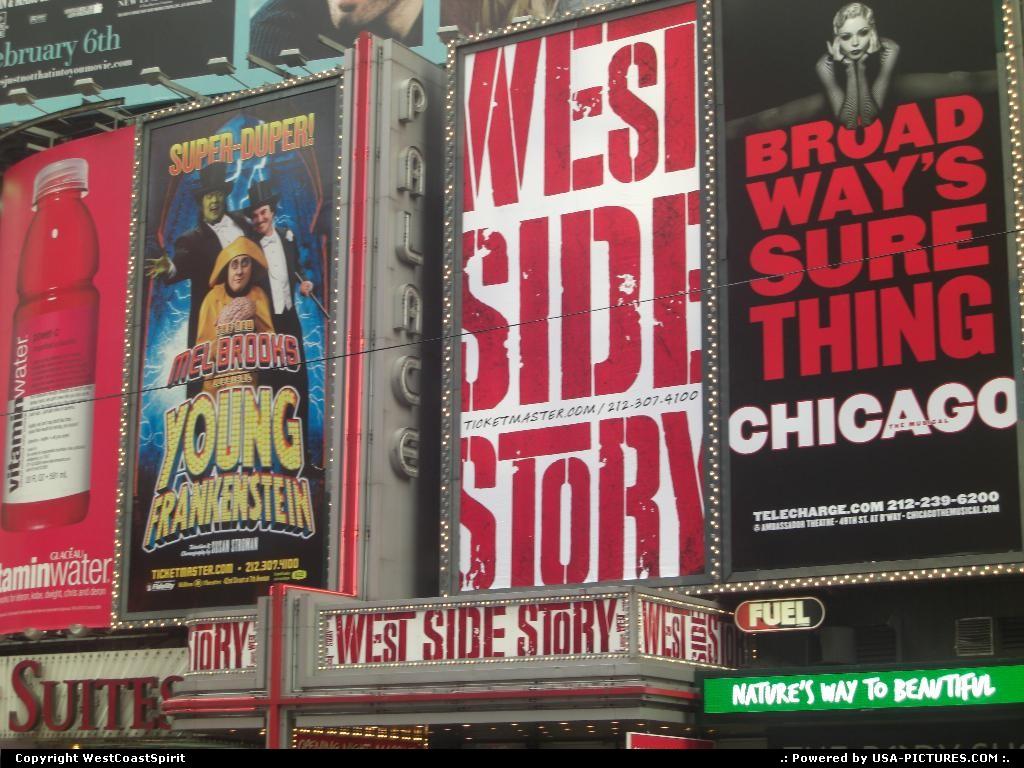 Picture by WestCoastSpirit:New YorkNew-yorkNYC, broadway, show, urban