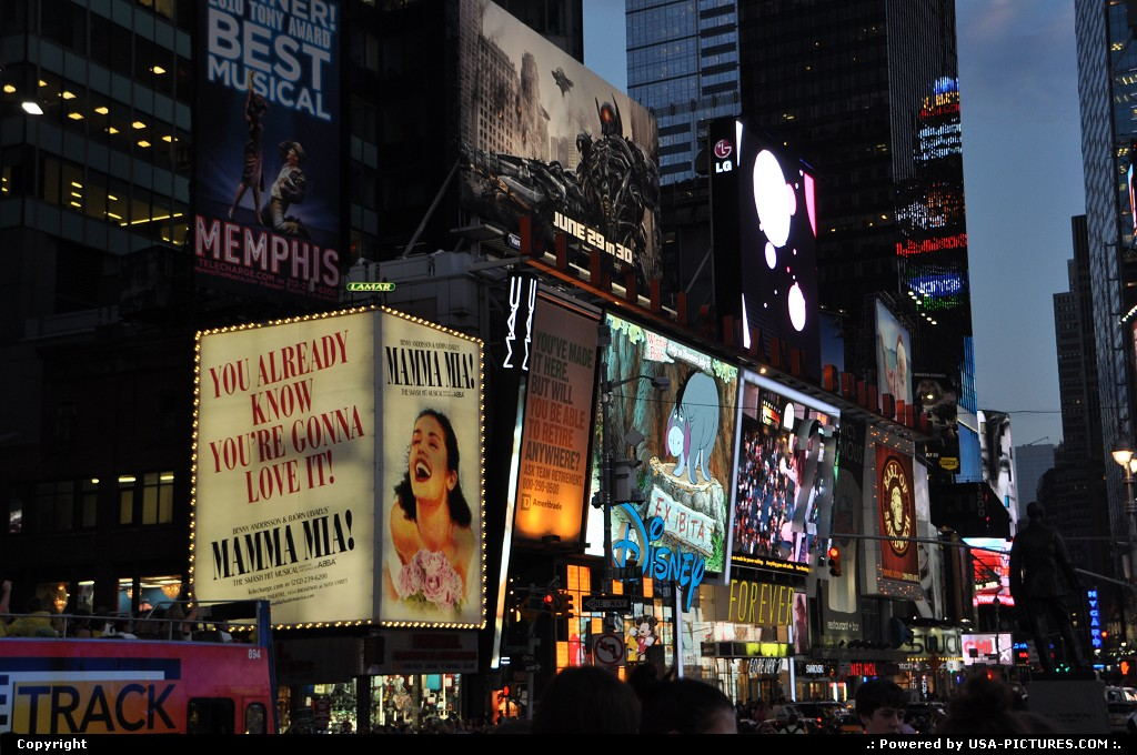 Picture by WestCoastSpirit: New York New-york   NYC, broadway, show, urban, comedy, soap