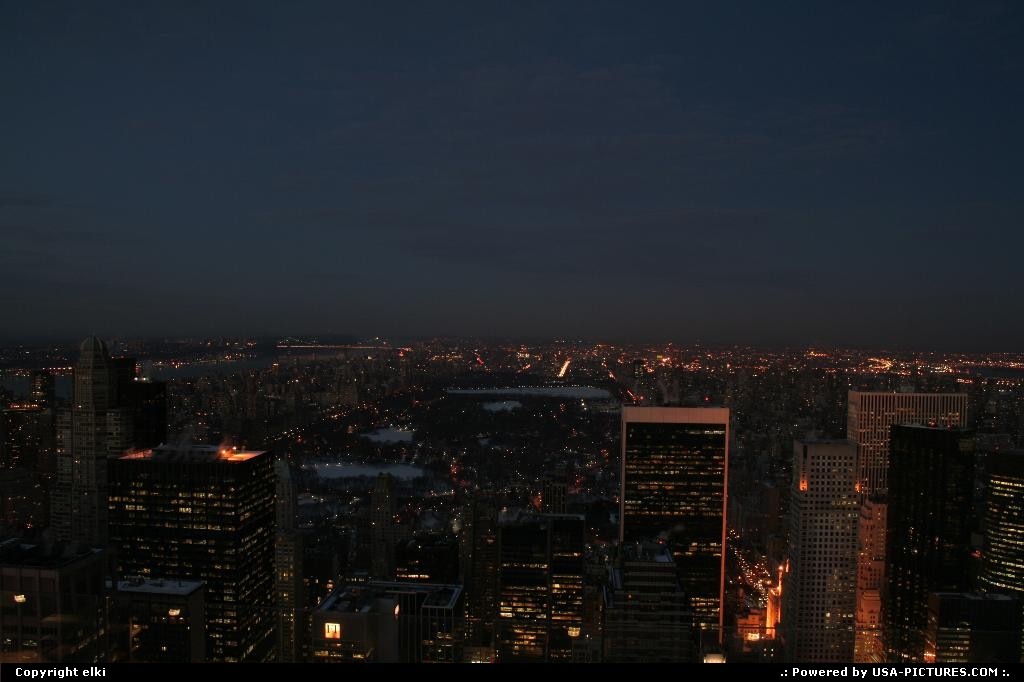 Picture by elki:New YorkNew-yorkNew york manathan sunset