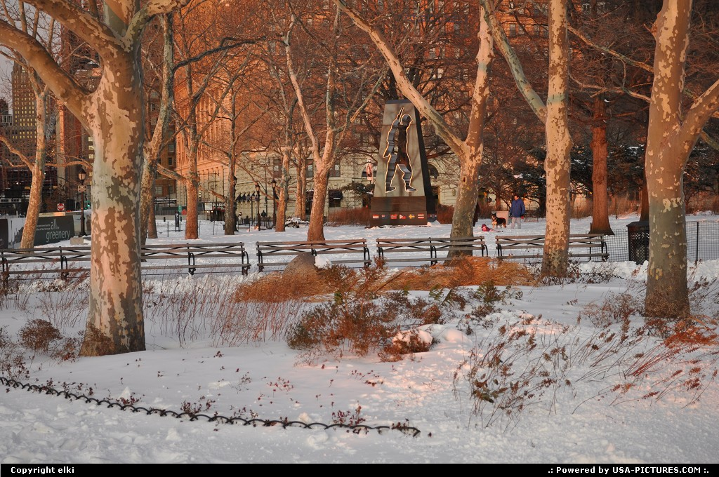 Picture by elki:New YorkNew-yorkbatterry park New York