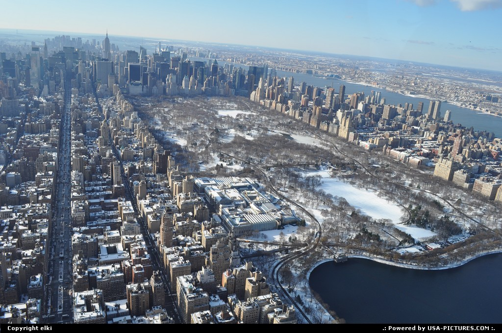 Picture by elki:New YorkNew-yorkny helicopter manathan