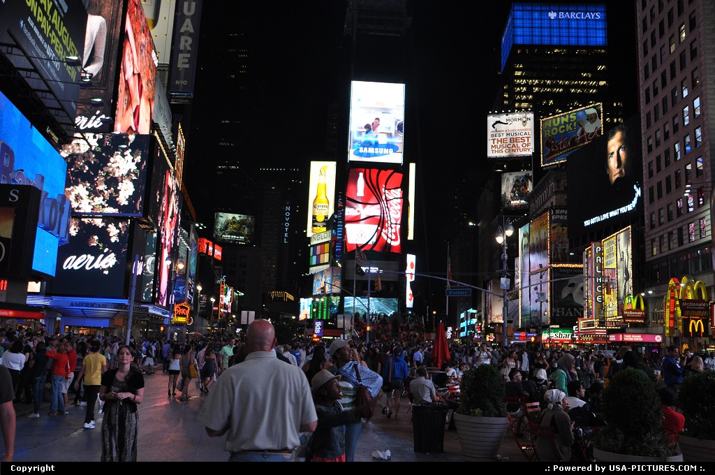 Picture by USA Picture Visitor:New YorkNew-yorktimes square, jfk, nyc, new york city, neons