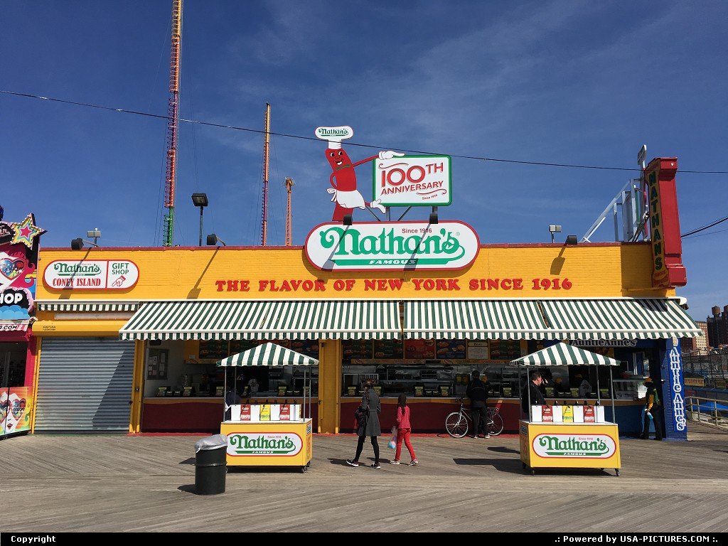 Picture by elki: New York New-york   coney island