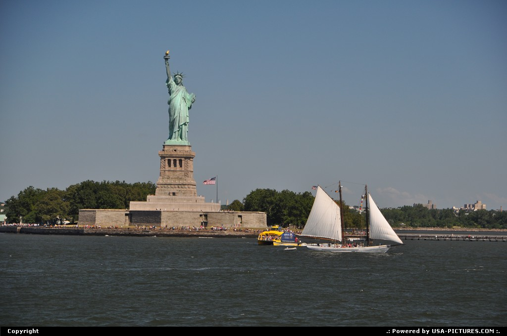 Picture by WestCoastSpirit:New YorkNew-yorkNYC, statue of liberty, staten, ferry, island