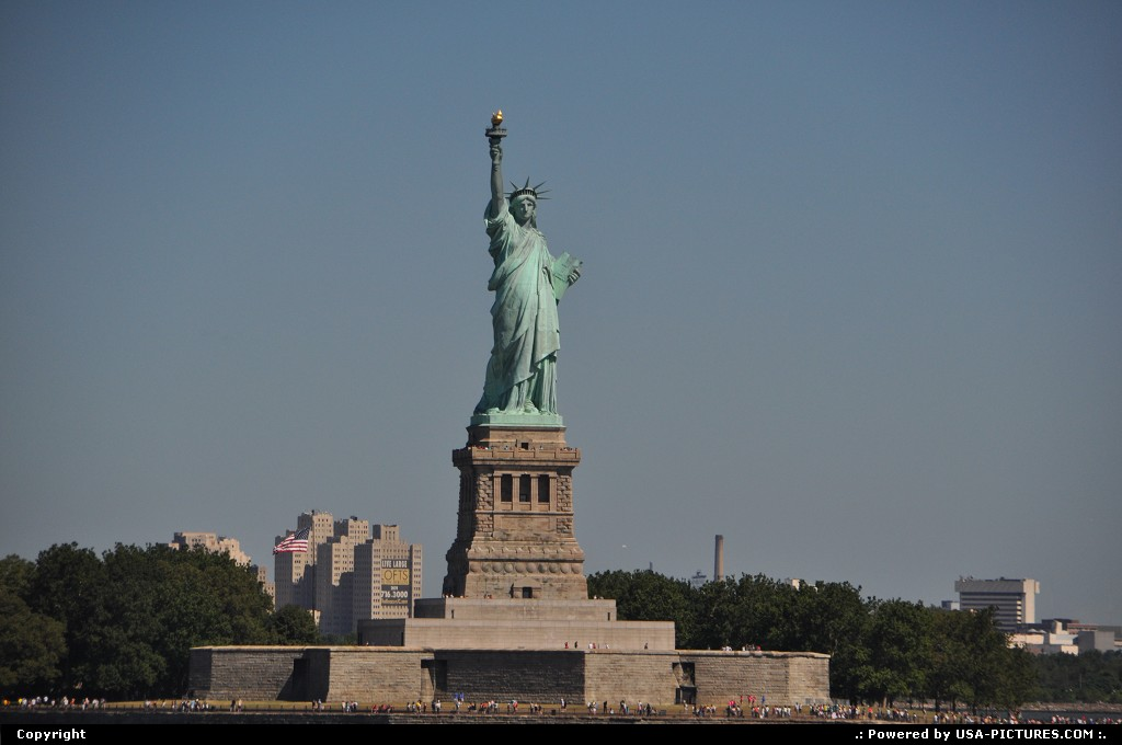 Picture by WestCoastSpirit: New York New-york   NYC, statue of liberty, staten, ferry, island