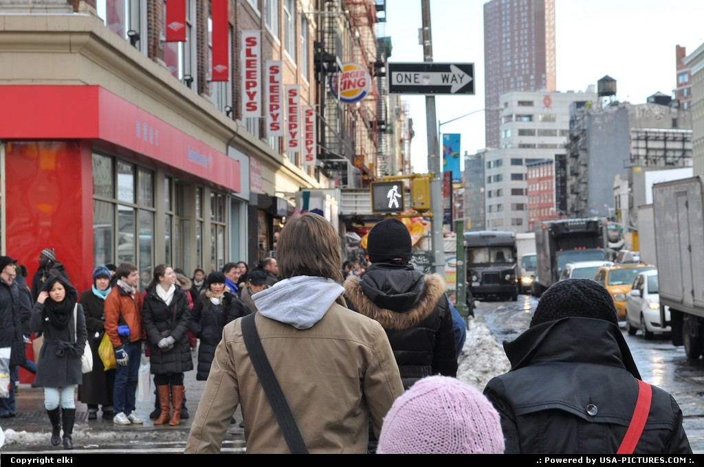 Picture by elki:New YorkNew-yorkcanal street new york