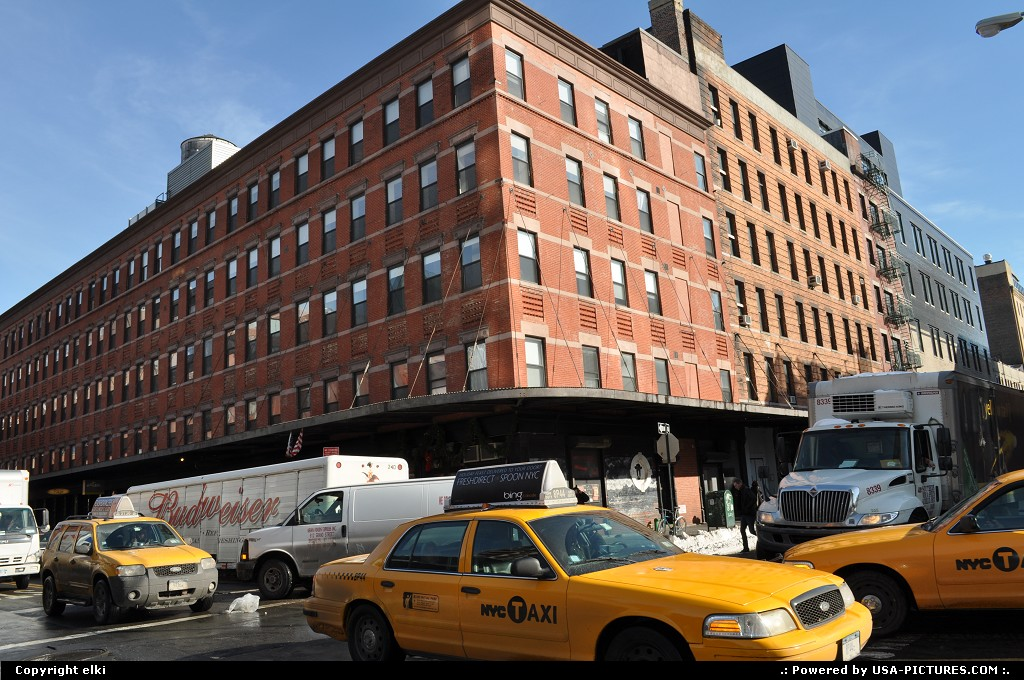 Picture by elki: New York New-york   meatpacking new york