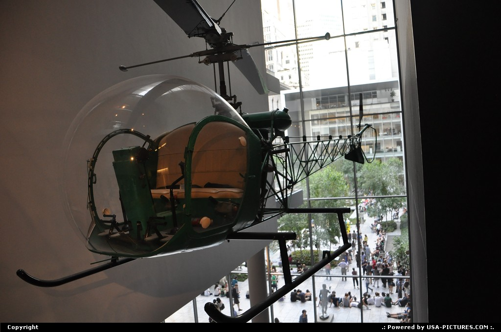 Picture by WestCoastSpirit: New York New-york   choper, helicopter, moma, museum, art, NYC