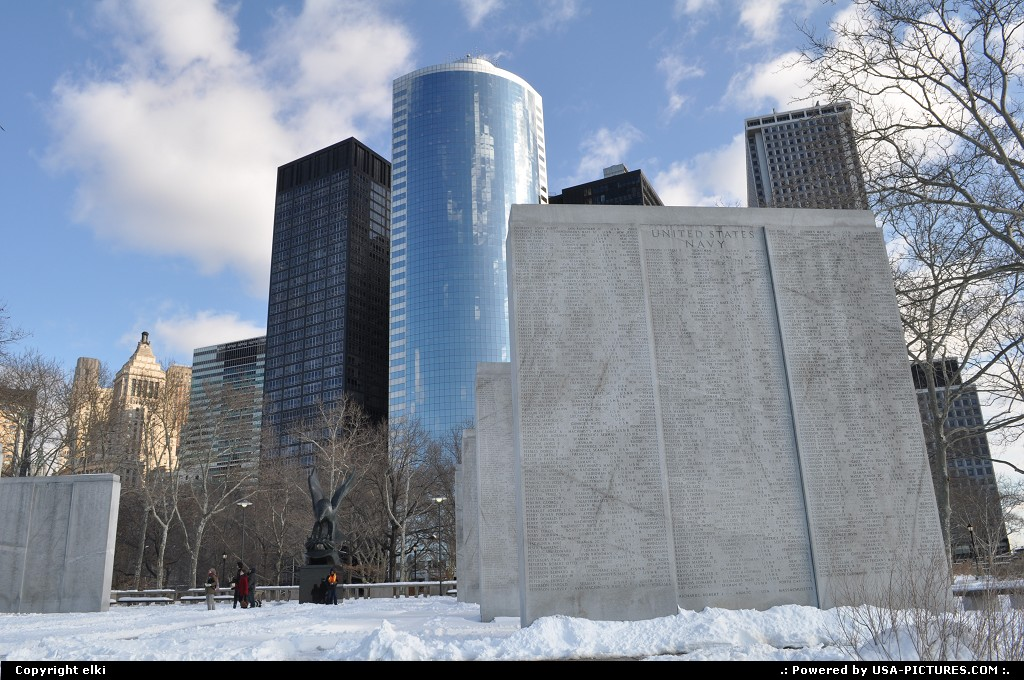 Picture by elki: New York New-york   battery park ny