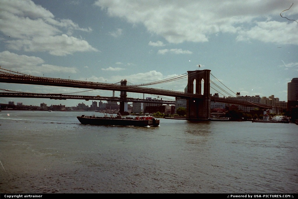 Picture by airtrainer: New York New-york   brooklyn bridge