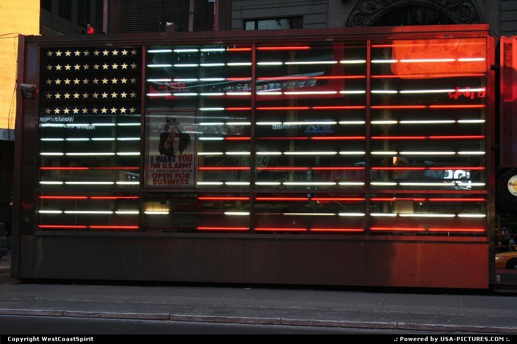 Picture by WestCoastSpirit:New YorkNew-yorkarmy, 911, kiosk, NYC
