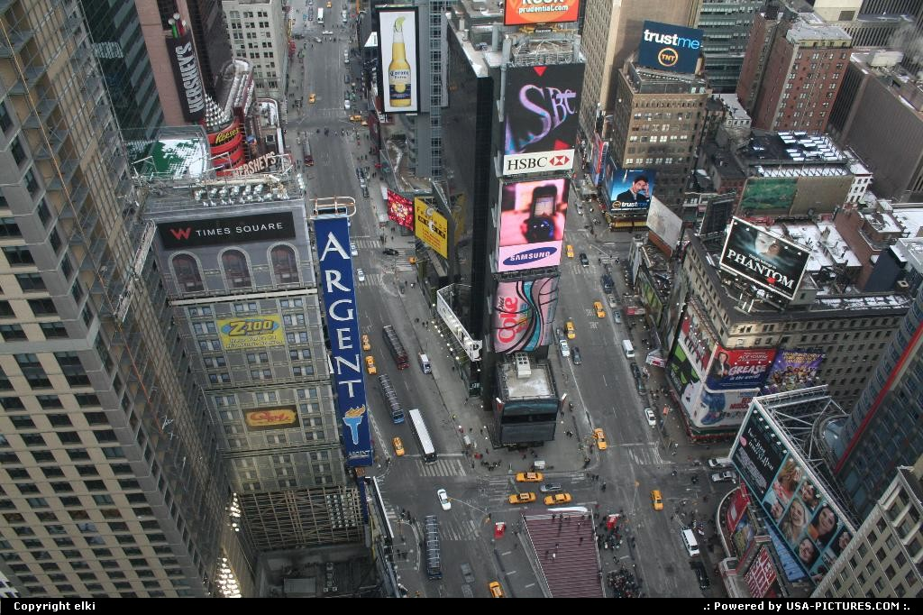 Picture by elki:New YorkNew-yorktimes square new york