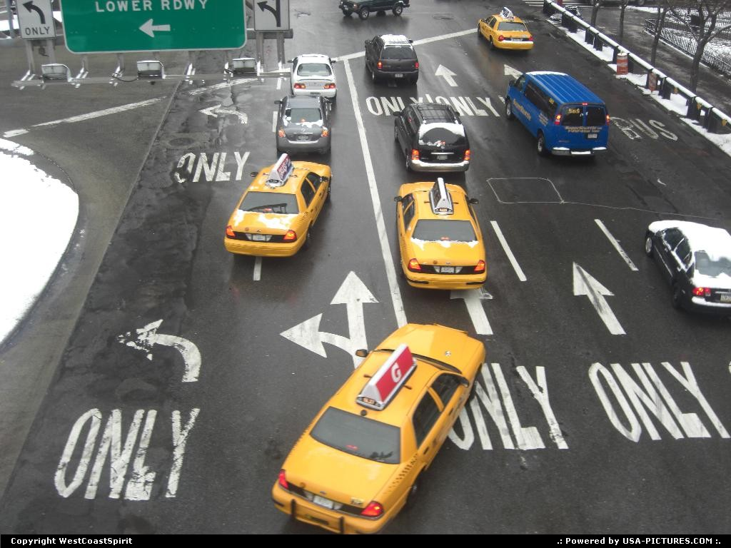Picture by WestCoastSpirit: New York New-york   cab, taxi, yellow cabs