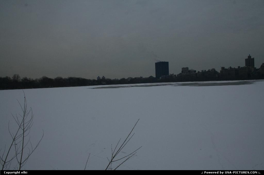 Picture by elki:New YorkNew-yorkreservoir central park new york