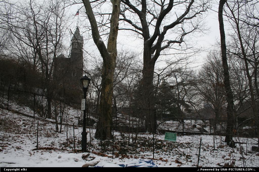 Picture by elki:New YorkNew-yorkBelvedere castle at central park