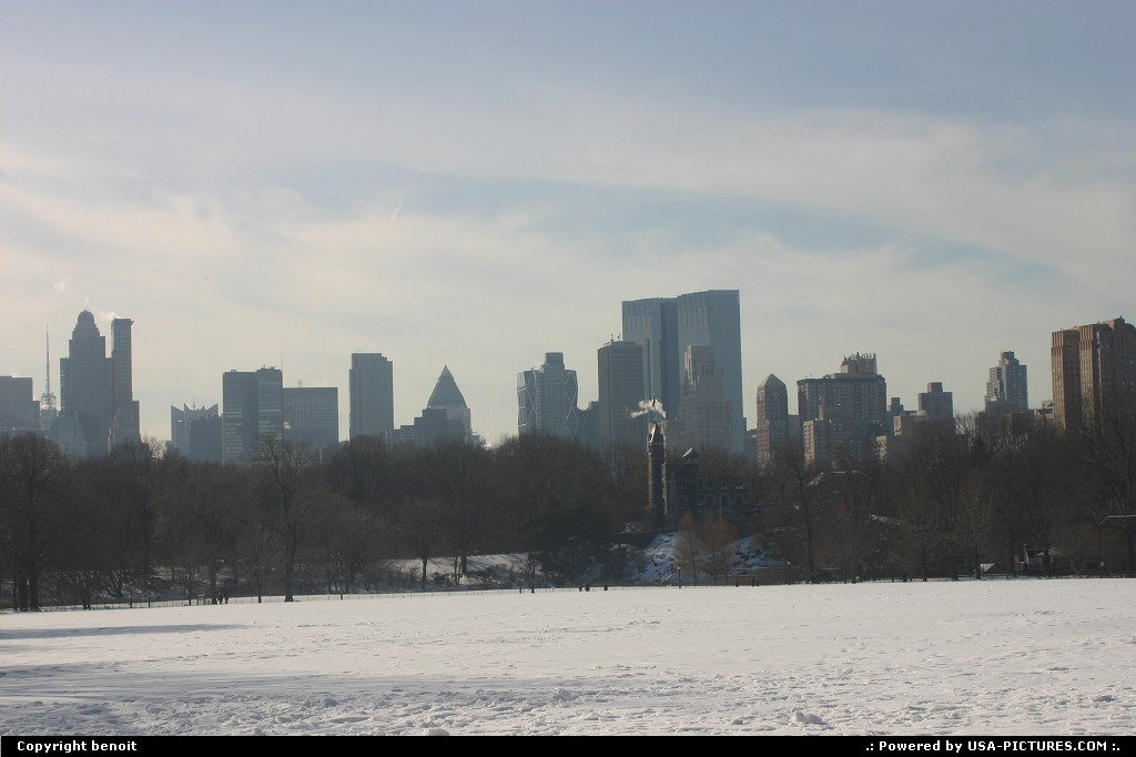 Picture by benoit:New YorkNew-yorkcentral park new york