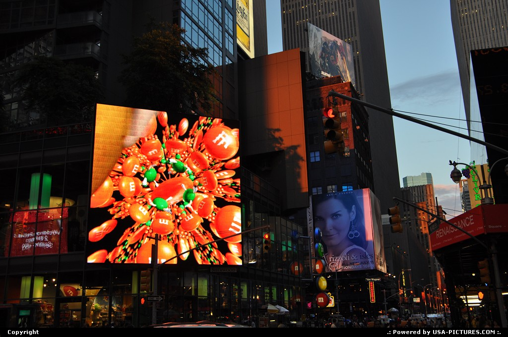 Picture by WestCoastSpirit: New york New-york   times square, jfk, nyc, new york city, neons