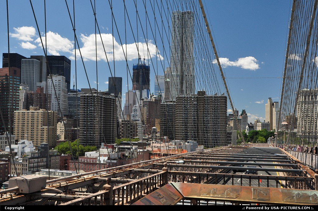 Picture by WestCoastSpirit: New york New-york   nyc, brooklyn, bridge, times square, empire state