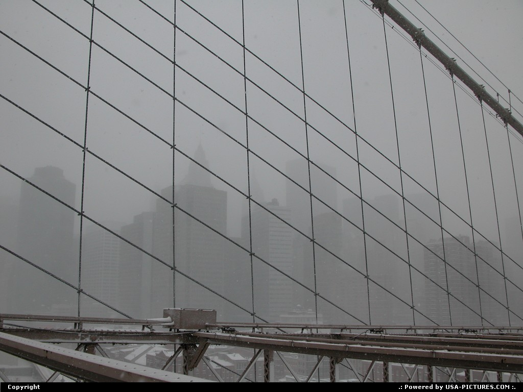 Picture by Parmeland:New yorkNew-yorkSnow, New-York