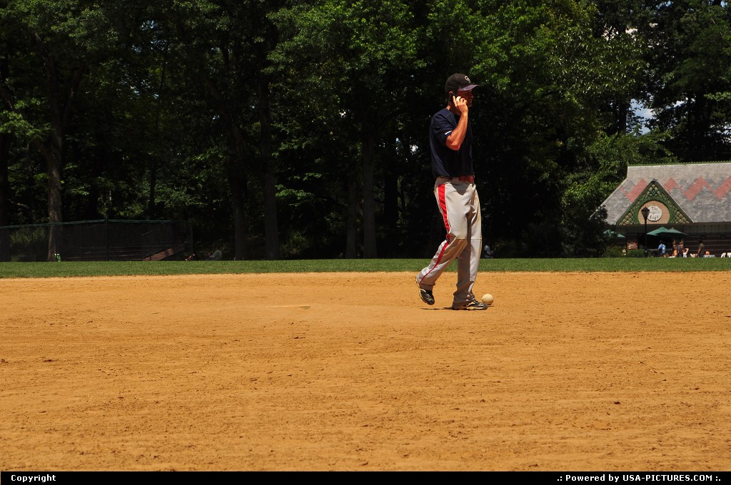 Picture by WestCoastSpirit: New york New-york   base-ball, NYC, park, JFK
