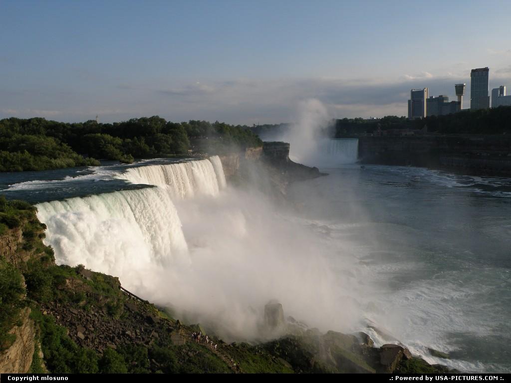 Picture by mlosuno:Niagara FallsNew-yorkniagara falls waterfall new york