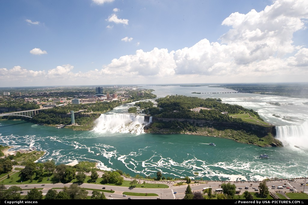 Picture by vincen: Niagara Falls New-york