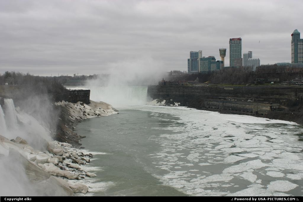 Picture by elki: Niagara Falls New-york   Niagara falls,