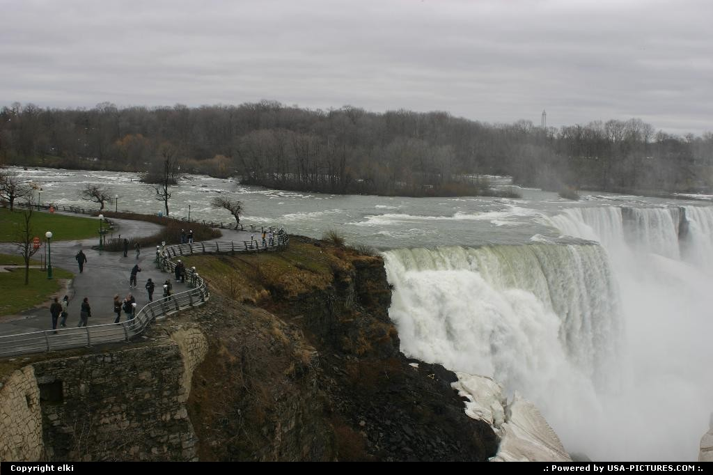 Picture by elki: Niagara Falls New-york   Niagara falls, us side