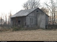 Ohio, old barn in Adamsville