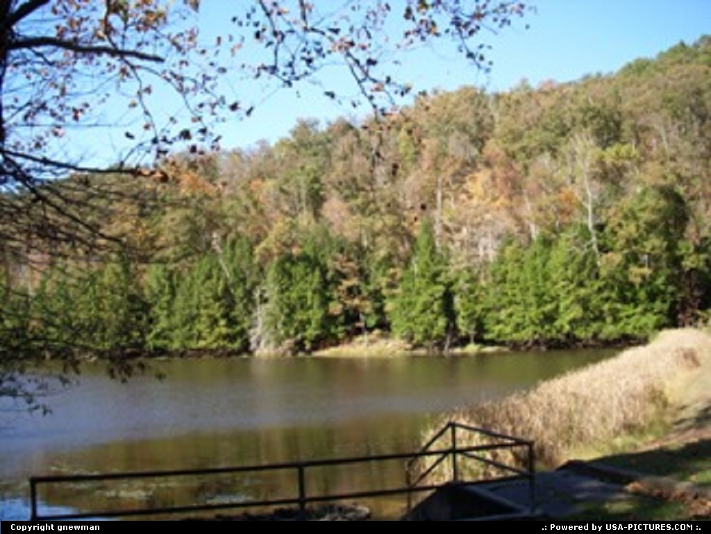 Picture by gnewman:West PortsmouthOhiowater, lake, fall, autumn