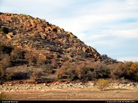 Oklahoma, Quartz Mountain in the Wichita Mountains of Southwest Oklahoma in late Autumn
