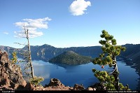 Photo by elki |  Crater Lake lake