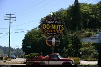 Photo by elki | Coos Bay  donut, sign, neon