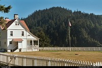Oregon, Heceta Lighthouse keepers' house.