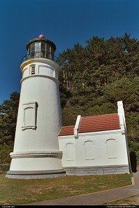 Oregon, Heceta Lighthouse: the lighthouse by itself