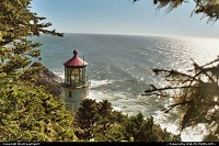 Photo by WestCoastSpirit | Yachats  lightouse, sea, keeper