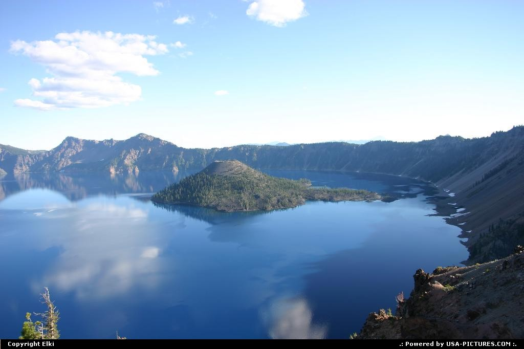 Picture by elki:  Oregon Crater Lake  lake