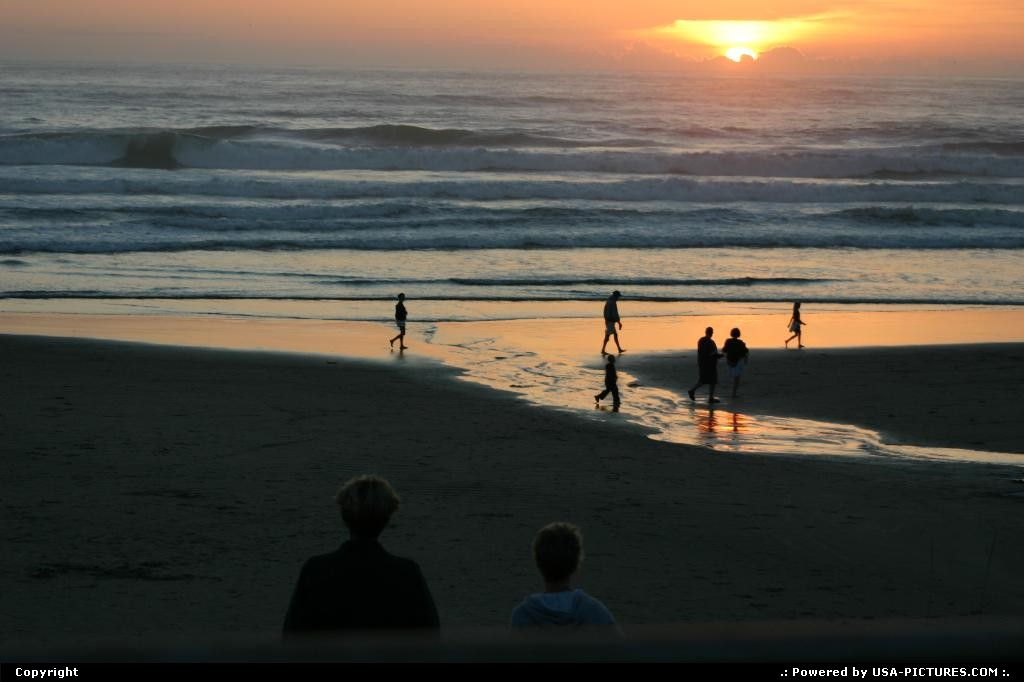 Picture by elki: Cannon Beach Oregon   beach, cannon beach, sunset