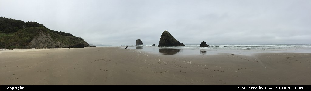 Picture by elki: Cannon Beach Oregon   Cannon Beach Oregon