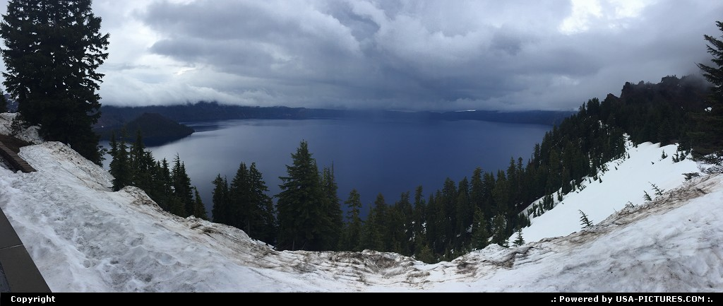 Picture by WestCoastSpirit:  Oregon Crater Lake  crater, lake, nps