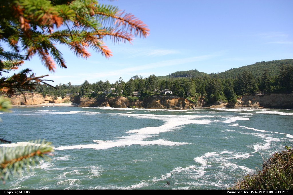 Picture by elki: Hors de la ville Oregon   Oregon coast