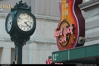 Photo by elki | Philadelphia  hard rock, clock