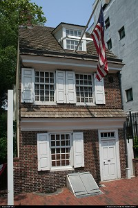 Pennsylvania, the oldest house in Philadelphia