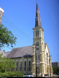 Photo by Bernie | Charleston  church, colonial